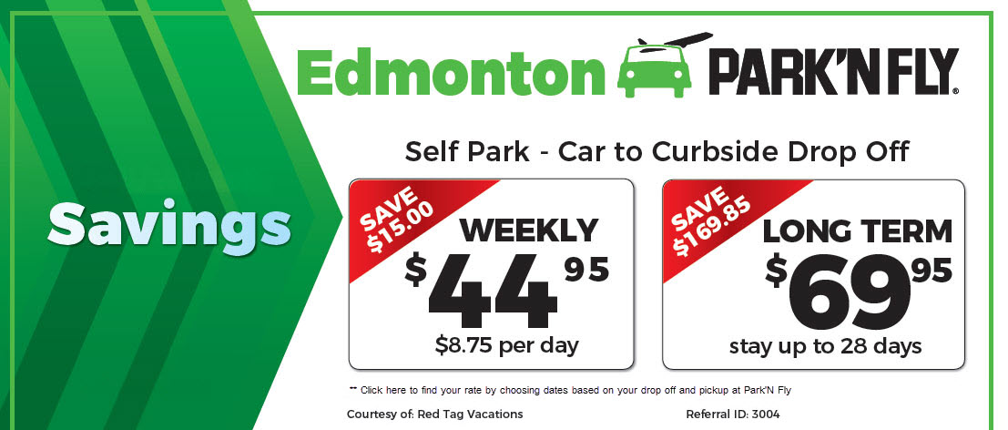 If you find a better priced airport parking offer in the Edmonton and area market, we will do our best to beat it with selfPark. Just email us at info@spanarpatri.ml with a copy of the offer and your preferred method of contact. We'll get back to you within 2 business spanarpatri.mlon: 2 Airport Road, Edmonton International Airport, AB T5J 2T2.