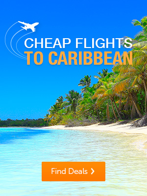 Cheap flights to the Caribbean