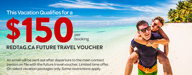 Reduced Deposits on Travel Packages, Book Now, Pay later
